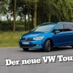 VW Touran – der Familien Kompaktvan mit PKW Feeling