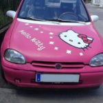 Hello Kitty Car – So pink kann ein Auto sein